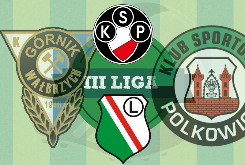 baraż o II ligę Polonia Legia II Górnik Wałbrzych KS Polkowice