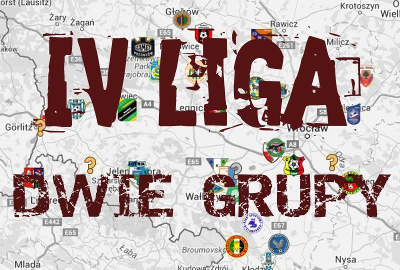 4 liga dolnośląska podział na grupy