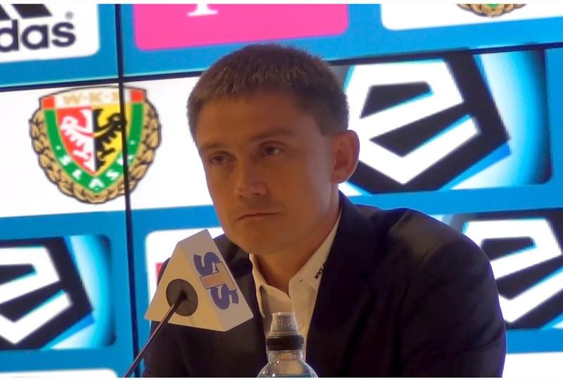 Mariusz Rumak nie jest już trenerem Śląska Wrocław