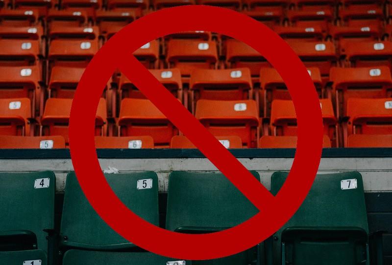 Stadion Kuźni zamknięty