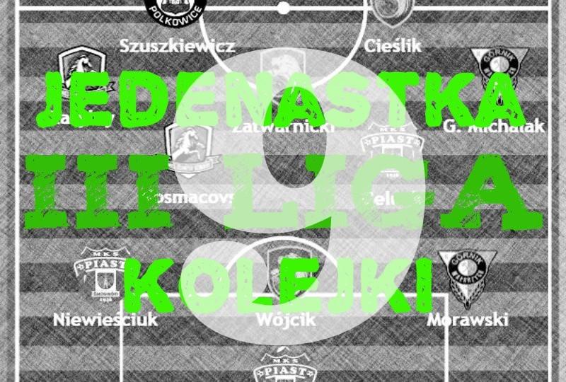 3 liga drużyna 9 kolejki