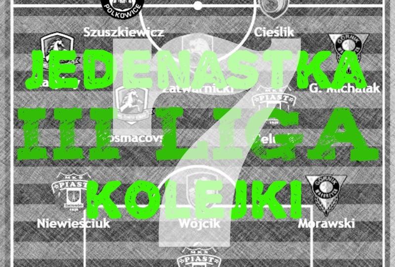3 liga drużyna 8 kolejki