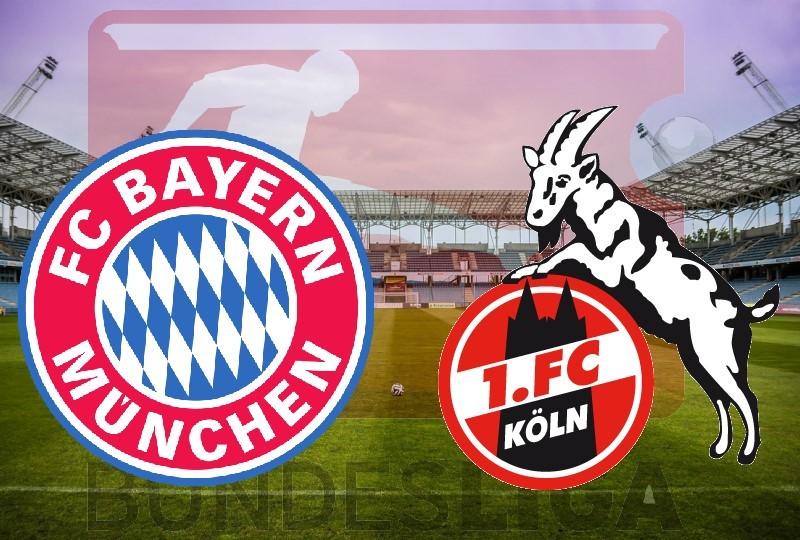 Bayern Monachium - FC Koeln na żywo online