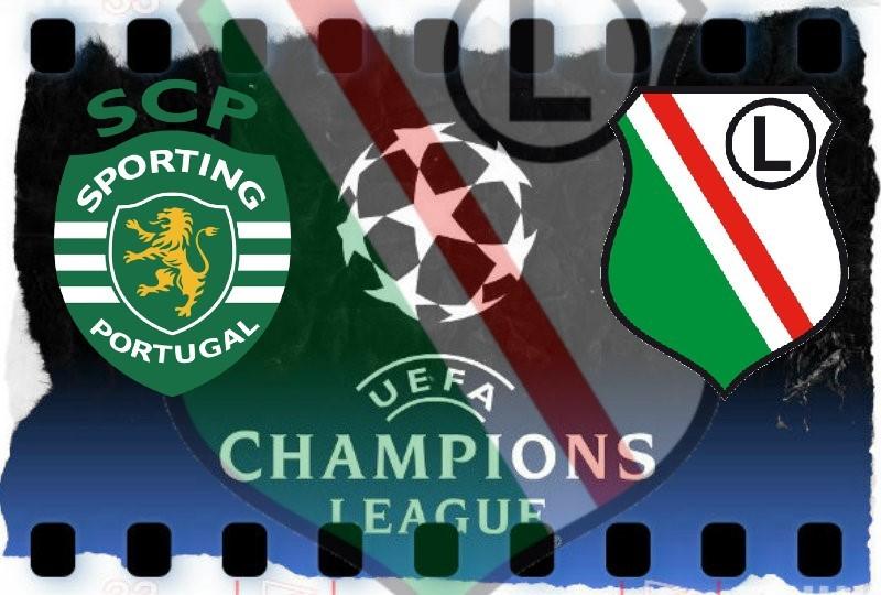 Legia - Sporting transmisja na żywo