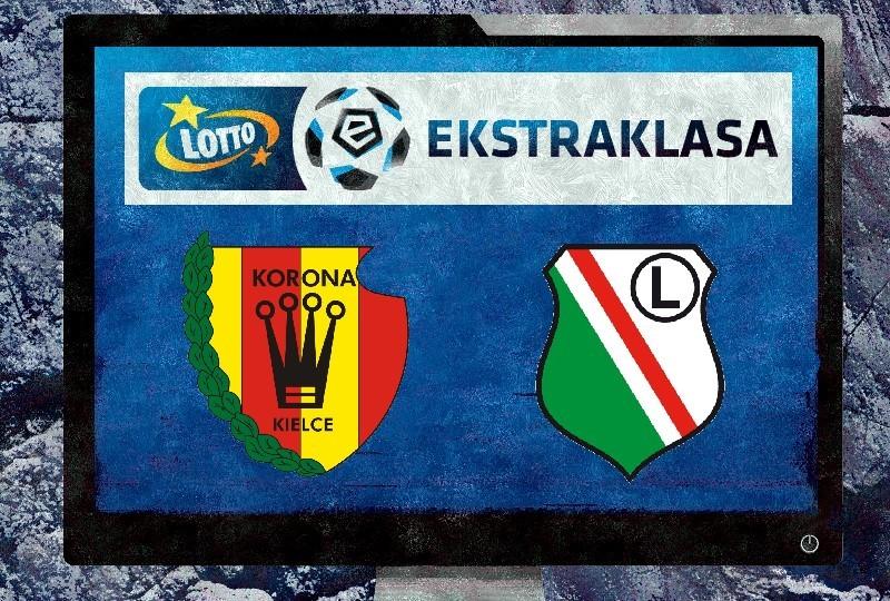 Korona Kielce - Legia Warszawa NA ŻYWO, TV, ONLINE