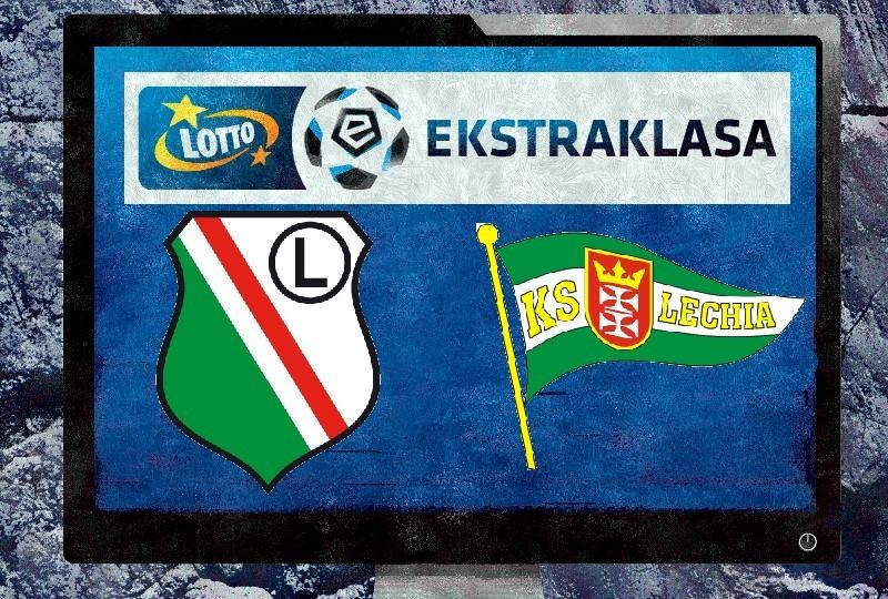 Legia Warszawa - Lechia Gdańsk transmisja na żywo