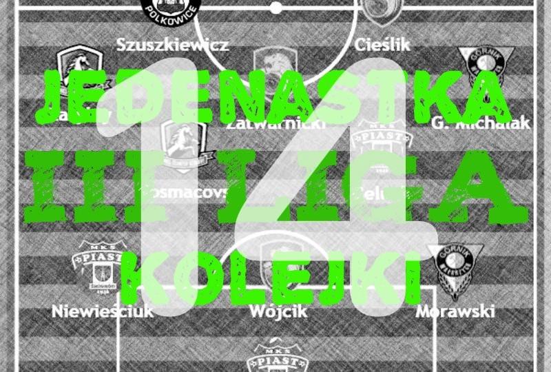 III liga: Dolnośląska jedenastka kolejki (# 14)