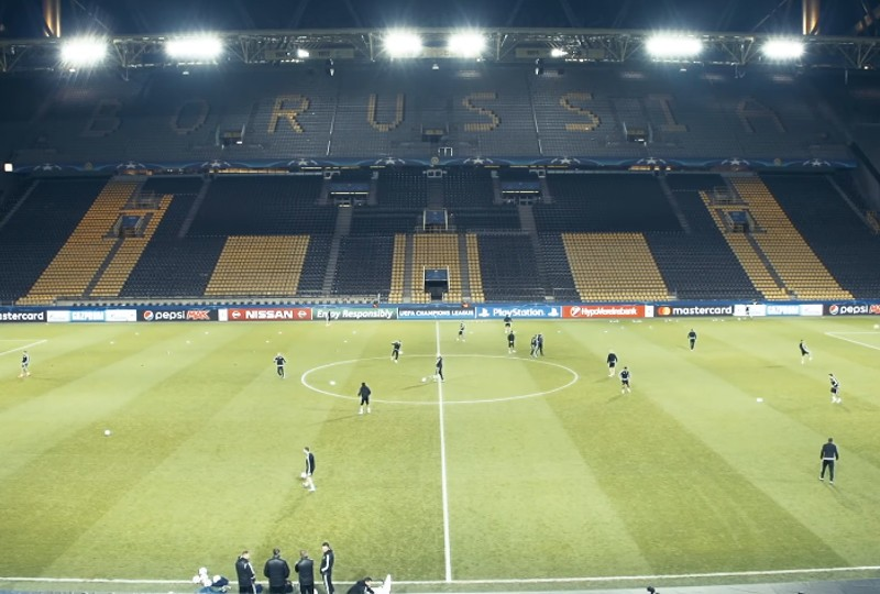 Legia - Borussia 22.11. stream na żywo