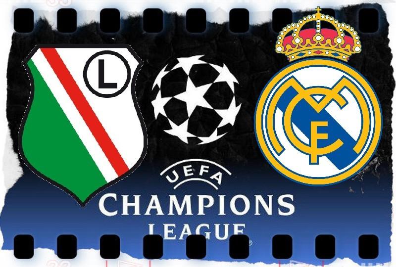 Mecz Legia - Real transmisja TV
