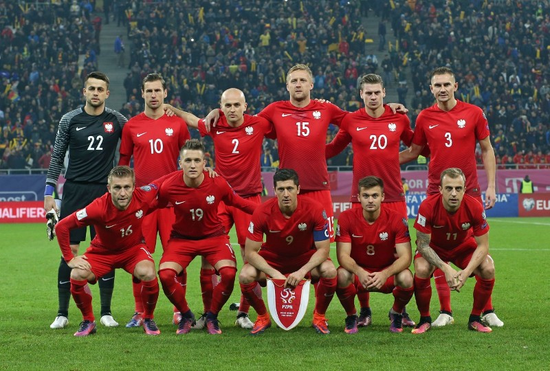 Lewandowski nie zagra Polska Słowenia