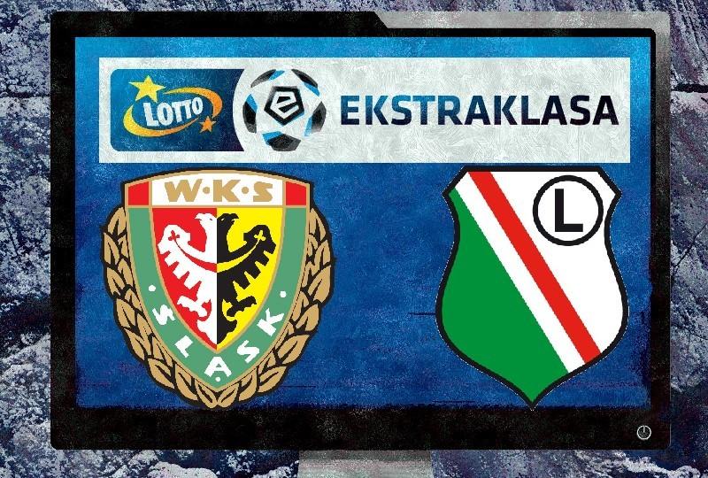 Legia Warszawa - Śląsk Wrocław ONLINE TV NA ŻYWO