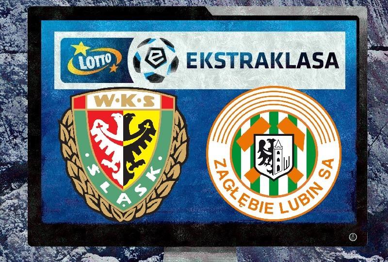 Śląsk Wrocław - Zagłębie Lubin TV, ONLINE