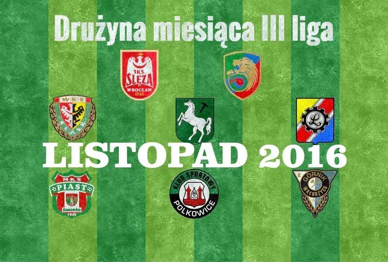 3 liga drużyna miesiąca marzec 2017