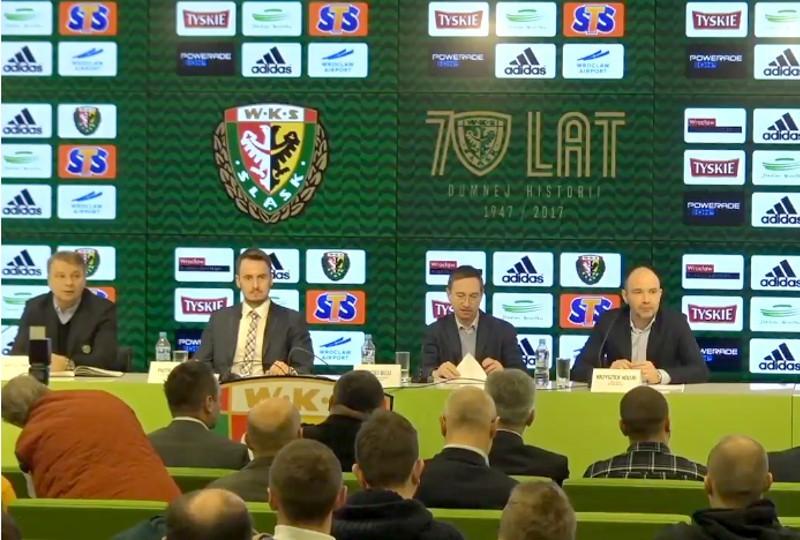 Śląsk Wrocław podpisał porozumienie