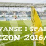 Awanse i spadki 2016/17 - III liga, IV liga, Okręgówka [STAN NA 8 MAJA]