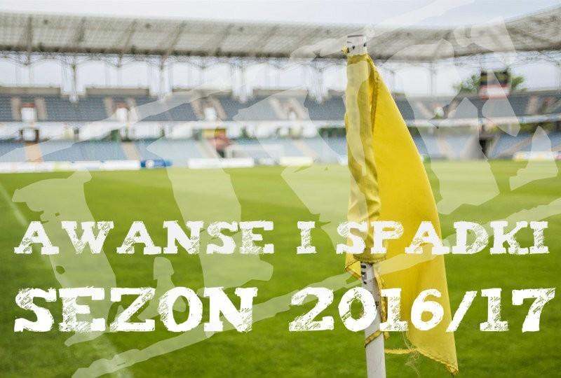 Awanse i spadki 2016/17 III liga IV liga Okręgówka