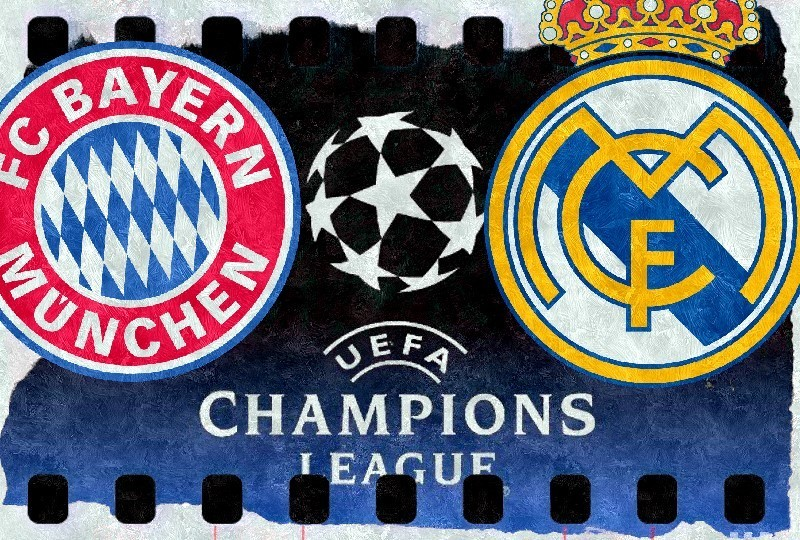 Real Madryt - Bayern online TV stream