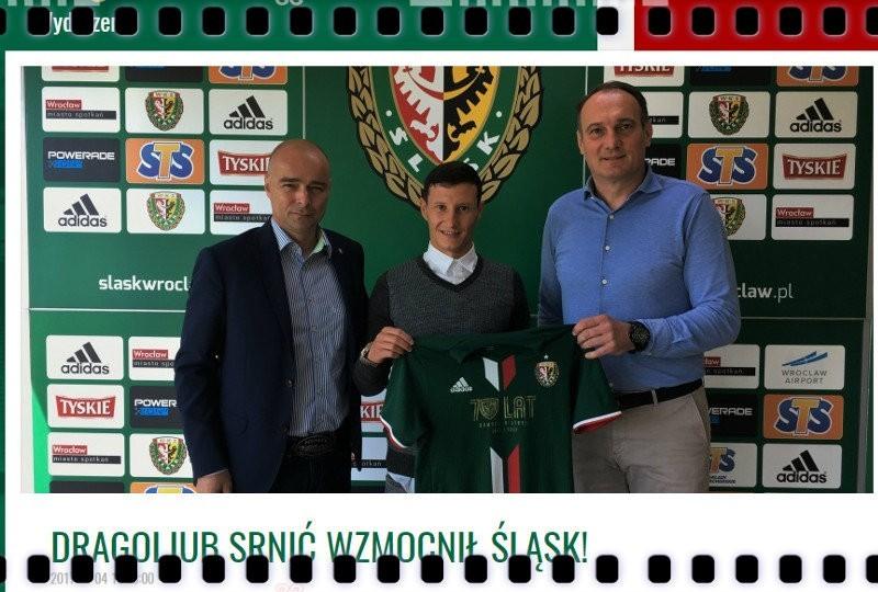 Dragoljub Srnic Śląsk Wrocław