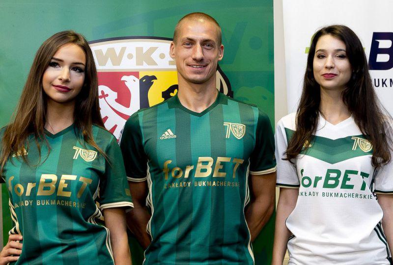 Śląsk Wrocław koszulki sponsor