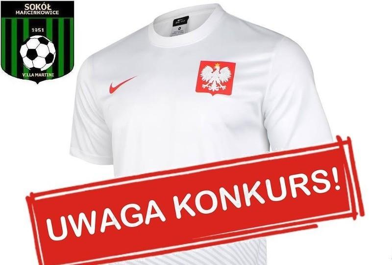 Wygraj koszulkę reprezentacji w konkursie Sokoła II Marcinkowice