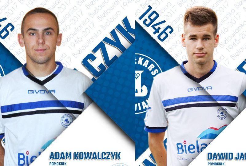 Adam Kowalczyk i Dawid Januszewicz