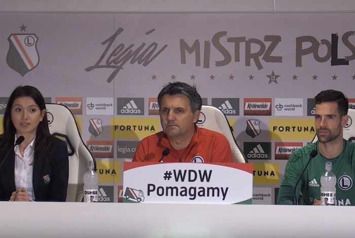 Legia Warszawa - Górnik Zabrze na żywo TV online