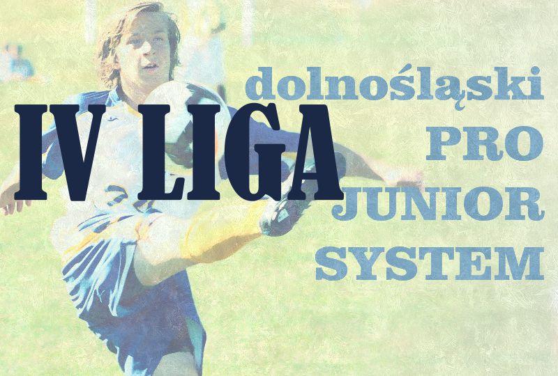 Dolnośląski Pro Junior System IV LIGA. Rezerwy najlepsze, liderzy na końcu