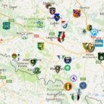 Nowy podział na grupy IV ligi w sezonie 2018/19 [MAPA]