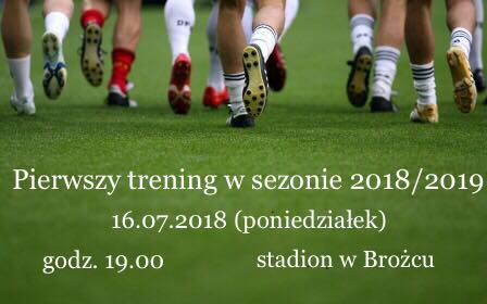 LKS Brożec szuka zawodników