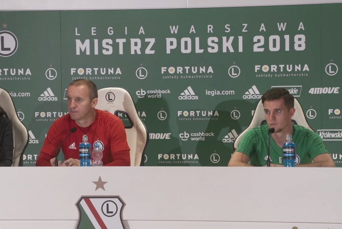 Legia Warszawa - Dudelange TV ONLINE NA ŻYWO