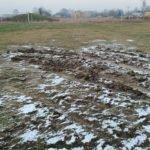Zniszczone boisko drużyny z B klasy
