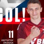 Pierwszy gol wychowanka Zametu w Ekstraklasie. Od razu trzy
