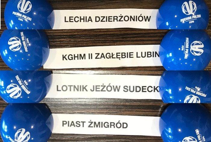pary półfinałowe dolnośląskiego Pucharu Polski