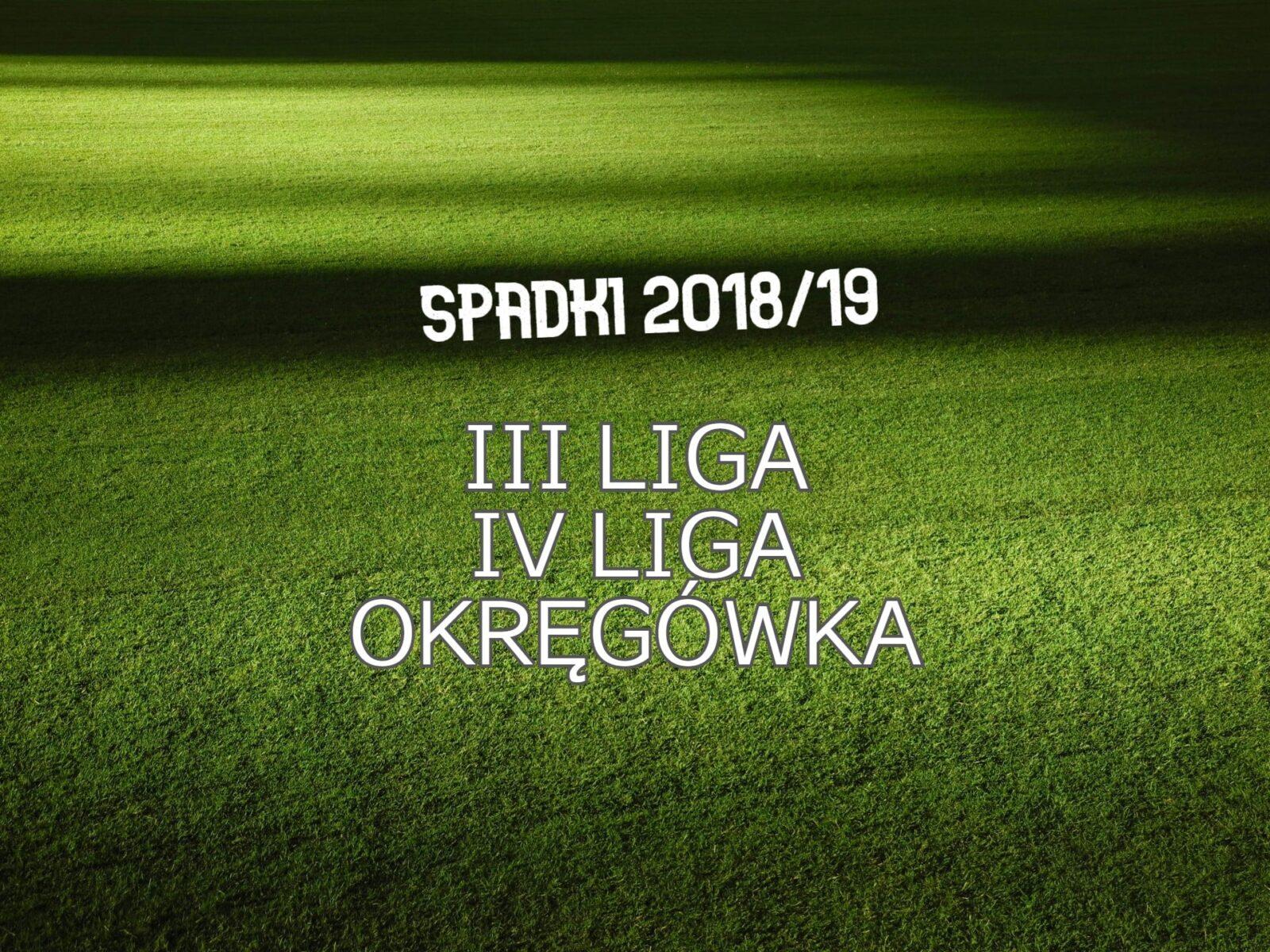 spadki 2018/19