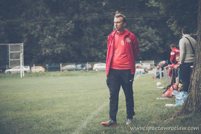 Andrzej Gomołysek nie jest już trenerem Sparty Wrocław