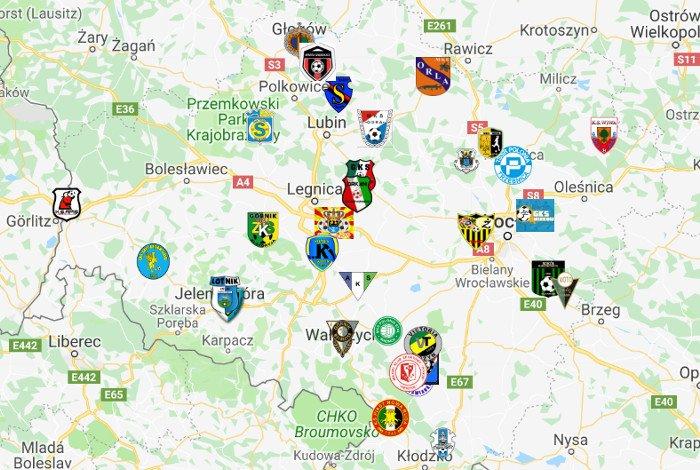 IV liga podział na grupy sezon 2019/20