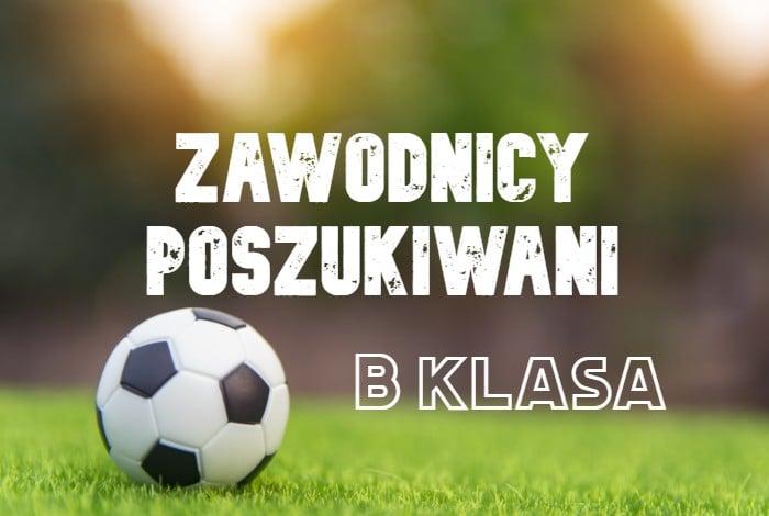 Wicelider wrocławskiej B klasy szuka zawodników