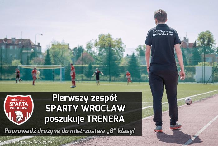 Sparta Wrocław szuka trenera