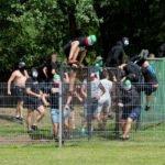 Surowe kary za zadymy na IV-ligowych stadionach