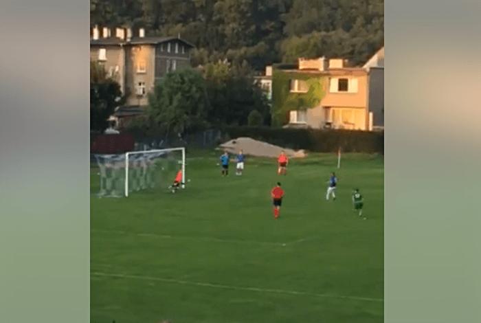 Bramkarz Sokoła obronił w Bardzie dwa rzuty karne [VIDEO]