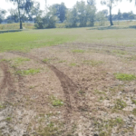 Kolejne boisko pod Wrocławiem zniszczone przez wandala