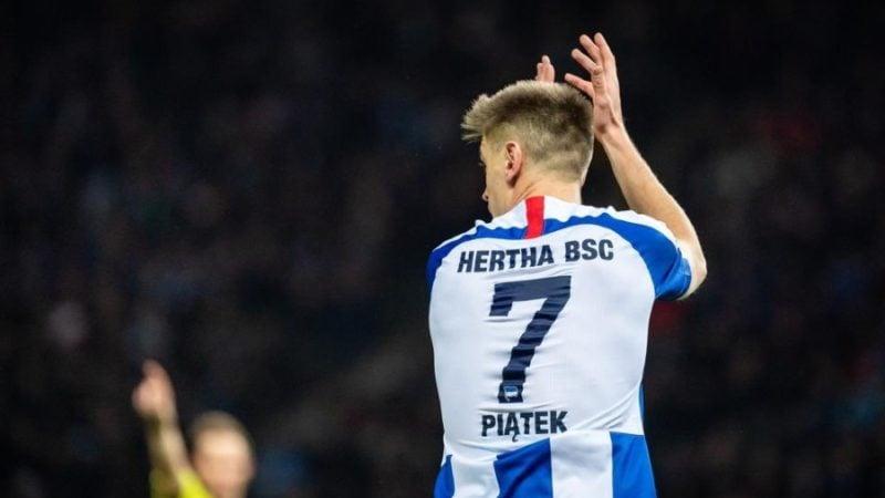 Krzysztof Piątek transfer Hertha Berlin