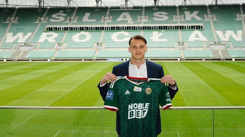 Rafał Makowski podpisał kontrakt ze Śląskiem Wrocław