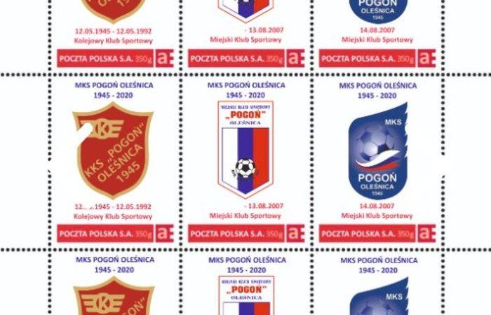 Pogoń Oleśnica znaczki