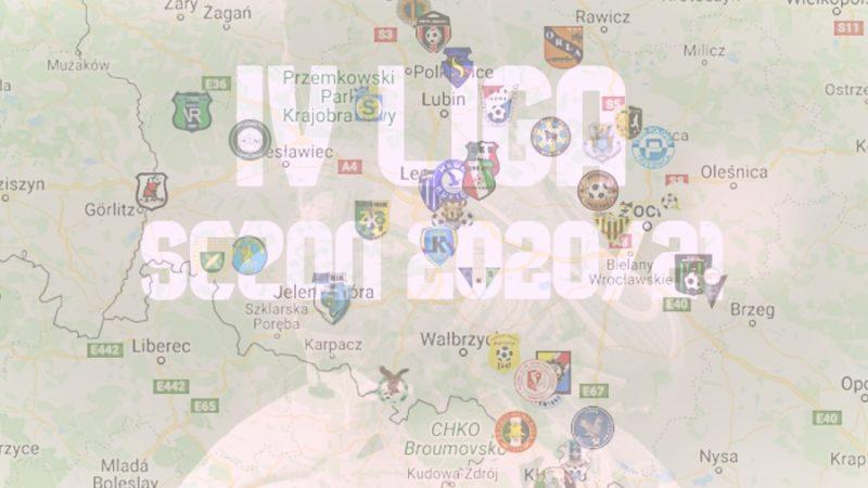 grupy IV ligi w sezonie 2020/21