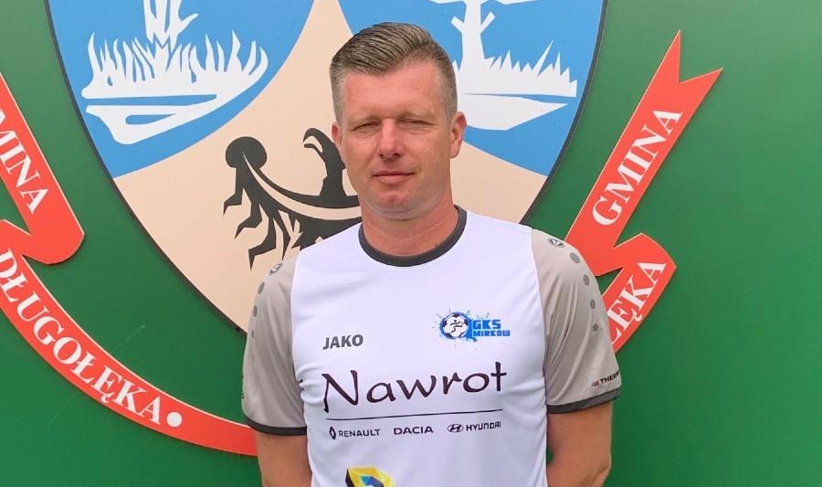 Mariusz Perzyna nowym trenerem IV-ligowego GKS-u Mirków