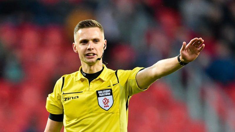 Damian Sylwestrzak sędzią meczu Wisła Kraków – Arka Gdynia.