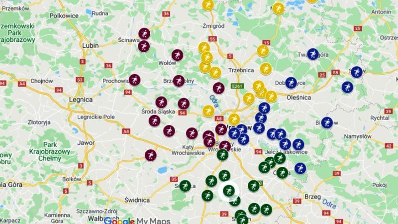 klasa A Wrocław sezon 2020/21 podział na grupy