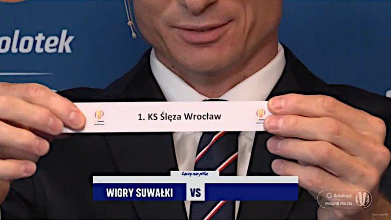 Ślęza pokonała Wigry i awansowała do 1/16 finału Pucharu Polski