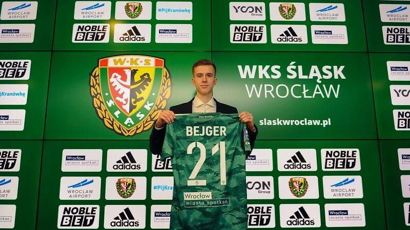 Łukasz Bejger ŚLąsk Wrocław